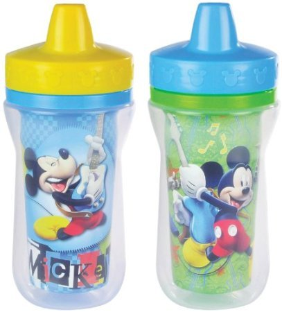 (The First Years Mickey Mouse 2 pack Insulated Sippy Cup)