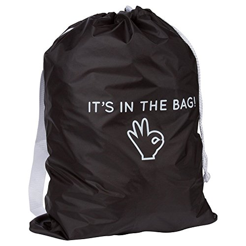 Heavy Duty Laundry Bag with Shoulder Straps - Durable, Water-Resistant & Easy to Carry - Ideal for Apartments, Travel, Dorm Rooms or Vacations