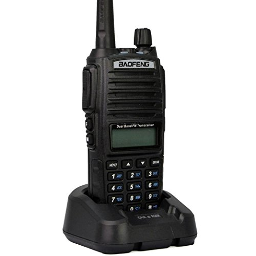 80051e953 Mengshen Baofeng UV-82 Two-Way Radio Walkie Talkie High-Powered Bigger  Battery