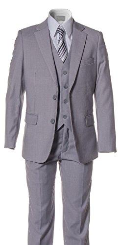 Buy grey dress pants with white shirt - 8