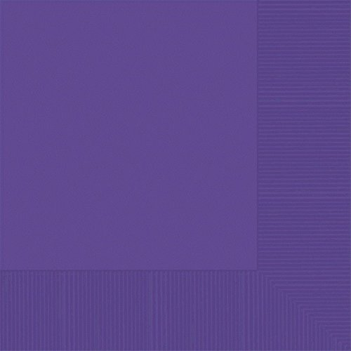 New Purple 2-Ply Luncheon Napkins | Party Supply | 600 ct.