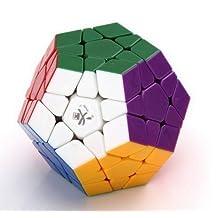 Dayan B00ADZMXJ80808 Megaminx Stickerless 12 Color Puzzle Speed Cube