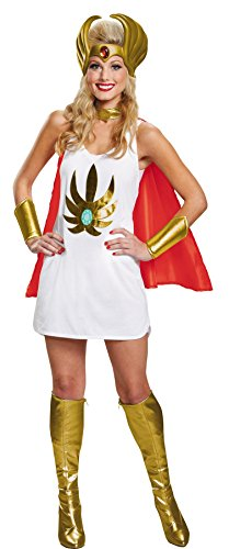 She-ra Halloween Costume For Adults (Disguise Women's She-RaCostume Kit, Multi, One Size)