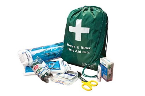 Horse & Rider First Aid Kit - Contains: Animalintex, 12