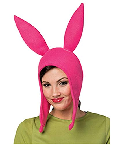 Ear Hat Burgers Beanie Cosplay Costume Halloween Fleece Hat Bunny Ears (Mom) ()