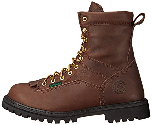 Georgia Men's G8041 Logger M Work Boot, Tumbled Chocolate, 14 W US by Georgia (Image #5)