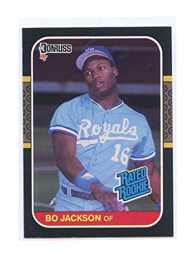 Sports Trading Cards & Accessories Sports Memorabilia, Fan Shop & Sports Cards 1987 Donruss #35 Bo Jackson Kansas City Royals Baseball Card