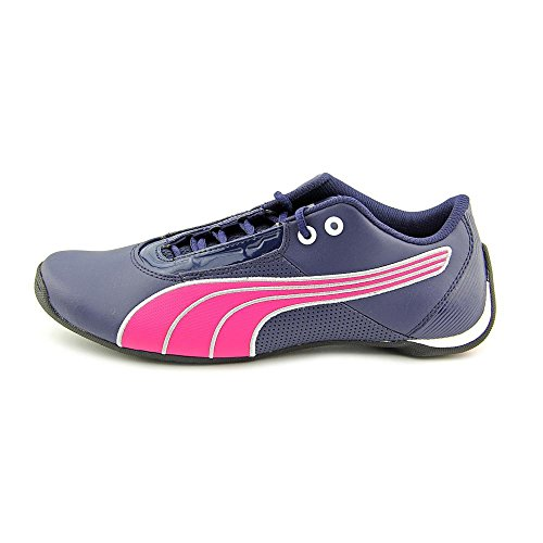 Puma Future Cat S1 Jr Womens Size 7 Blue Leather Sneakers Shoes UK 6 EU 39