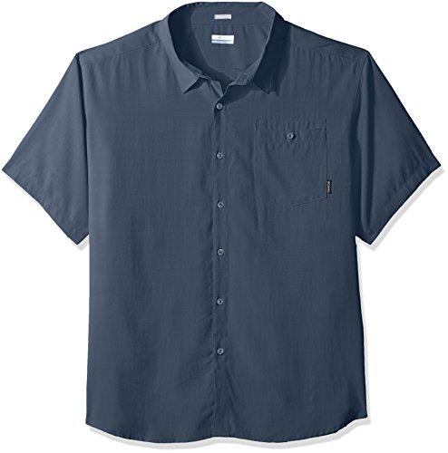 Columbia Mens Mossy Trail Big & Tall Short Sleeve Shirt