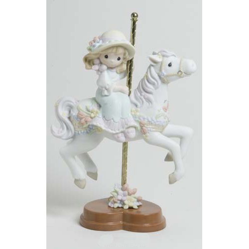 2004 Precious Moments Premier Collection RENEW FAITH, RESTORE HOPE, REPLENISH LOVE Limited Edition- 2,000 Pieces Worldwide- VERY RARE- Figurine by Precious Moments