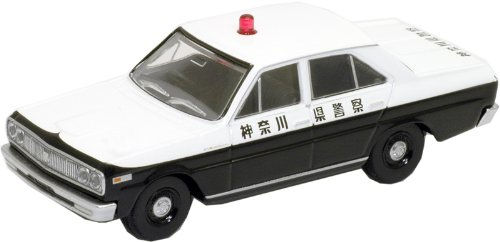 1/64 TLV-32b ニッサン セドリック パトカー 神奈川県警(ブラック×ホワイト) 「トミカリミテッドヴィンテージ」 222033の商品画像