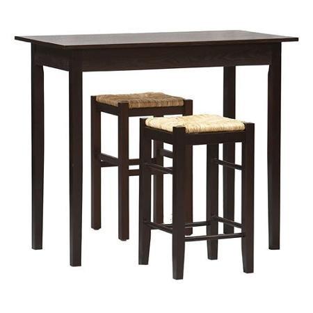 Linon Tavern 3-Piece Counter Height Set - Linon Tavern Set