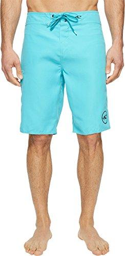 - O'Neill Men's Santa Cruz Solid 2.0 Boardshorts Turquoise Swimsuit Bottoms
