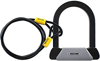 SIGTUNA Bike lock - 16mm Bike Lock with 1800mm Flex Steel Cable