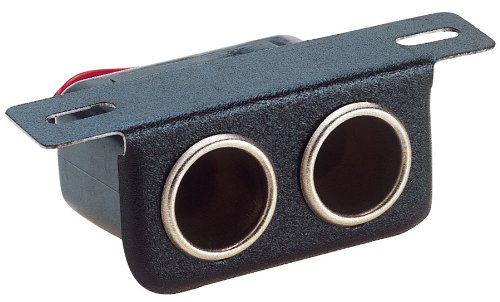 Custom Accessories 49997 12V Dual Cigarette Lighter (12 Volt Accessory Receptacle)