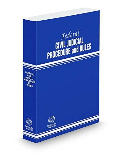 Federal Civil Judicial Procedure and Rules, 2016 ed.