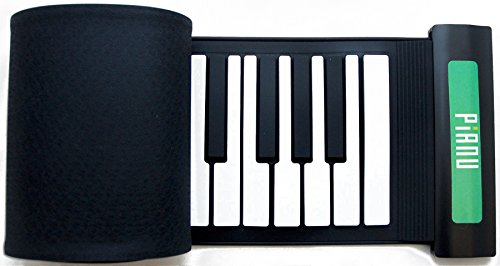 Pianu Official Roll-up Portable MIDI USB Keyboard 61 Keys Learn to Play Piano