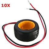 Pukido 10pcs Precision AC Current Transformer Coil PZCT 50 A / 10mA