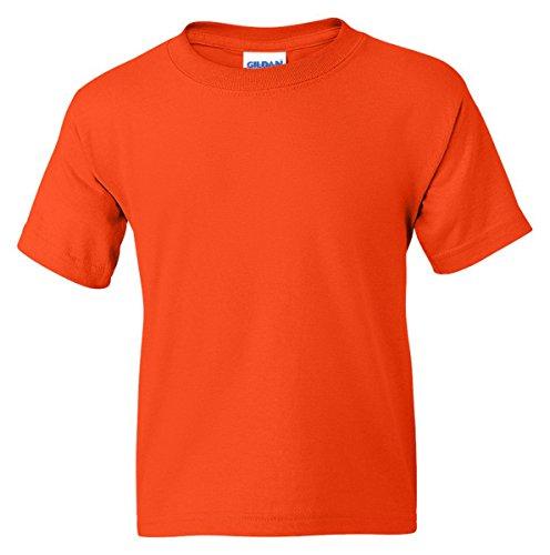 Gildan Youth DryBlend 5.6 oz., 50/50 T-Shirt - ORANGE - S