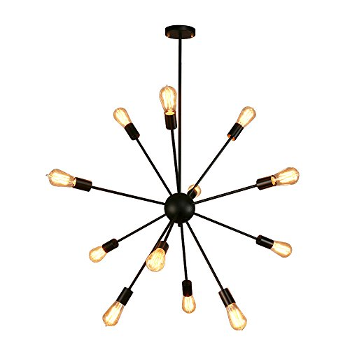 Black Nickel Pendant Lighting in US - 5