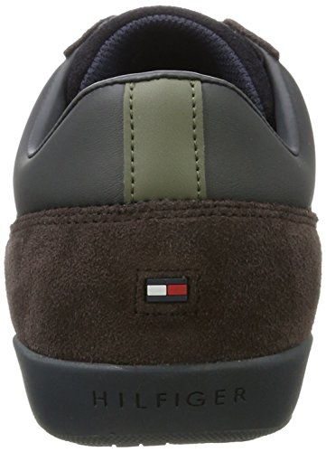 Tommy Hilfiger Herren R2285oyal 3c4 Low-Top Blau (Midnight/coffee Bean)