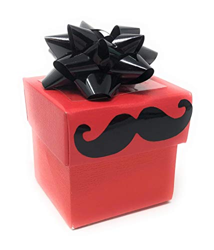 Glitter Bomb Prank Movember Mustache Gift