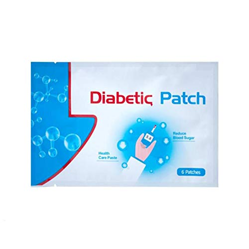 (6Pcs Diabetes Plasters Keep Blood Sugar Balance Pure Natural Herbal Health Care Product Cocohot (6pcs))