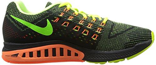 Nike Herren Air Zoom Structure 18 Laufschuhe Volt / Hyper Crimson / Schwarz / Electric Grün