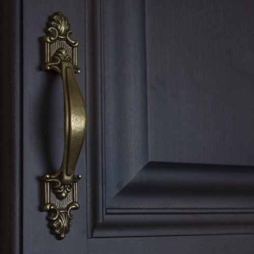 GlideRite Hardware 4116-AB-100 Deco Cabinet Pull, 100 Pack, 3.5'', Antique Brass by GlideRite Hardware (Image #3)