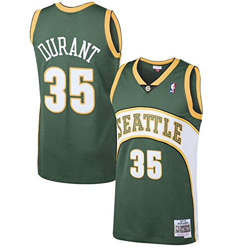Outerstuff Youth Kevin Durant Seattle Supersonics Green Hardwood Classic Jersey (Youth X-Large)