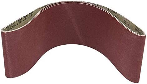 LHQ-HQ 3Pcs 6X48 Inch Sanding Belts Aluminium Oxide 100 Grits Abrasive Sanding Belts Grinding and Polishing