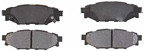 Prime Choice Auto Parts SMK1114 Rear Semi Metallic Brake Pad Set