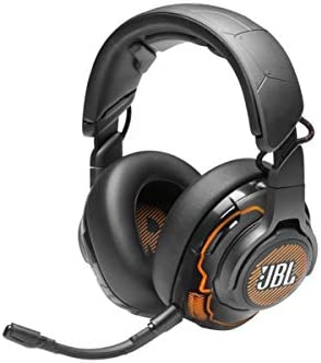 JBL Quantum ONE – Over-Ear Performance Gaming Headset with Active Noise Cancelling – Black