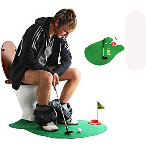 Personalized Kids Gifts Under 20 - Toilet Seat Golf, Mini Potty Golf