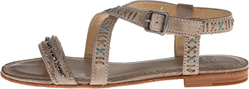 Frye Women's Carson Boho Criss Cross Sandals Sand US