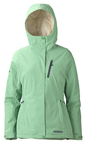 - Marker Women's Moment Jacket, Spring Green, X-Large