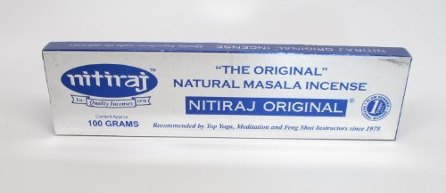 Original 100 Gram - Nitiraj Incense From India