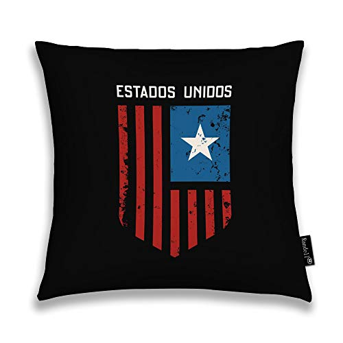 Randell Throw Pillow Covers Estados Unidos Grunge Effect Home Decorative Throw Pillowcases Couch Cases -