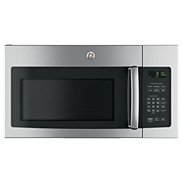 GE JVM3162RJSS 30 120 Volts 1.6 cu. ft. Capacity Over the Range Microwave with Convertible Venting and 1000 Watts in Stainlesss Steel