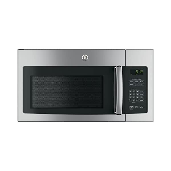 GE JNM3163RJSS 30″ Over-the-Range Microwave with 1.6 cu. ft. Capacity, in Stainless Steel