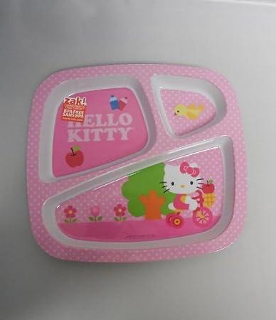 BPA Hola Bandeja de comidas Kitty (descatalogados por el Fabricante)