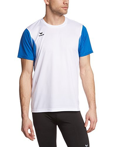 erima Men's Running T-Shirt wei/new royal Size:XXXL by Erima