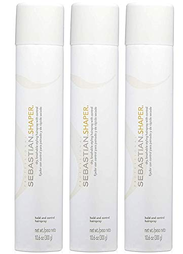 3 Pack Shaper Dry Brushable Styling Hairspray 10.6 Oz