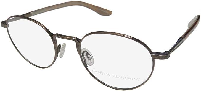 Barton Perreira Watson Mens//Womens Designer Full-rim Fashionable Durable Eyeglasses//Eye Glasses
