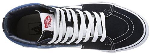 Sneaker Unisex Vans Adulto Blu Suede Alte SK8 Canvas Classic Navy Hi xqaSg