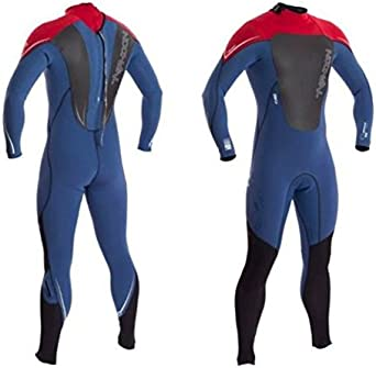 Softest most flexible core available Flextreme Typhoon Zephyr 3MM Back Zip Wetsuit Cardinal Red