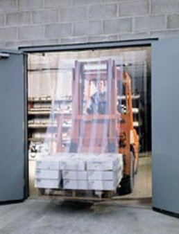 Size W X H: 15 X 14 Strip Door With 16 Inch X .160 Smooth Strip Material Lbs. : 309 Wt. H16-411514 Overlap /%: 50/% 16-411514 Singer Safety Prod.