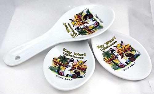 Key West Lighthouse Souvenir Collectible Spoon Rest agc