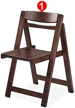 Sillones de Comedor Plegables de Madera Sillas de Cocina Comedor Conjunto de 2 sillas Plegables Patio de jardín Cómodo Outwell Camping Color Nogal: Amazon.es: Hogar