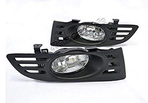 Remarkable Power FL7053 Fit For 2003-05 Hondaa Accord 2DR Clear Fog Light Kit